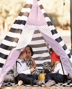 Een tent alleen voor de kinderen op jullie bruiloft