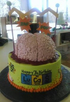 Mad Science Cake!  Desserts by Rita, Havre de Grace, Maryland.  Abby somebody.  Abby Normal.