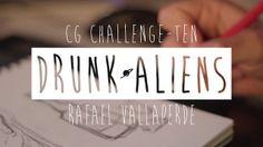 CG Challenge-Ten Drunk Aliens by Rafael Vallaperde. Check high res version in my folio http://rafaelvallaperde.tumblr.com/#39974340190