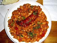 Balkan Food - Balkanski Pasulj prebranac sa kobasicom