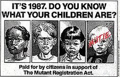 Mutant Registration Act