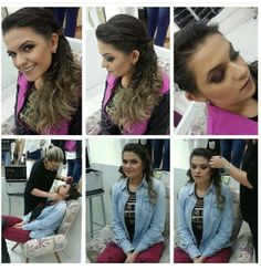 Make up Francielle KEHER. cabelo e make
