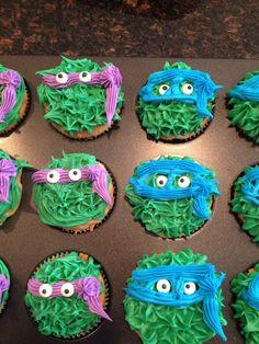 Tmnt cupcake for beginner