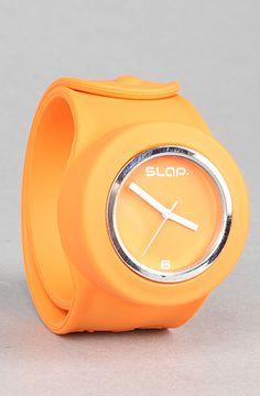 The SLAP Watch in Orange Unisex's Watches By SLAP Watch
