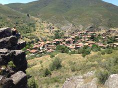 Patones de Arriba, a small town outside of Madrid Spain