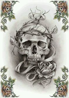 Crown of Thorns Skull