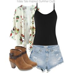 """Teen Wolf - Malia Tate Inspired Summer Outfit"" by staystronng on Polyvore"