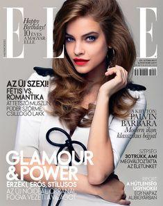Barbara Palvin by Zoltan Tombor for Elle Hungary October 2011