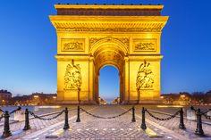 Arc de Triomphe at dawn by Loïc Lagarde on 500px