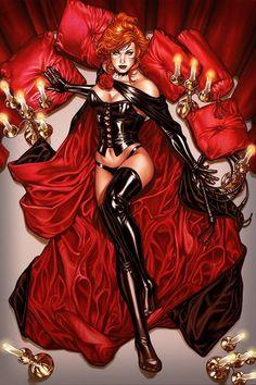 X-Men variant cover - Dark Phoenix - Jean Grey by Mark Brooks * Marvel Women, Marvel Girls, Comics Girls, Comic Book Characters, Comic Character, Comic Books Art, Fictional Characters, Jean Grey Phoenix, Dark Phoenix