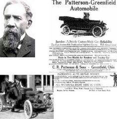 Charles Rich Patterson and his son Frederick Patterson. The C.R. Patterson & Son Carriage Company of Greenfield, Ohio became the nation's first and only African-American founded and owned automobile manufacturing company. His son Fredrick became the first African American to manufacture motor-driven vehicles in 1915.
