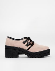 70d4f2afa9 Asos Said and Done Suede Creepers