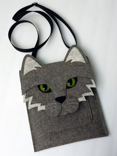 Cat MacBook Pro 15 inch case Felt laptop bag by BoutiqueID