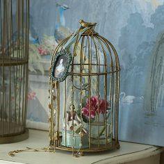 Classic gilded birdcage