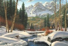 """Winter Retreat"" by Mark Keathley"