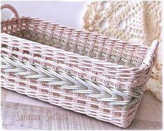 Newspaper Paper, Newspaper Basket, Knit Basket, Basket Weaving, Kitchen Baskets, Paper Furniture, Cardboard Paper, Amazon Home, Affordable Home Decor