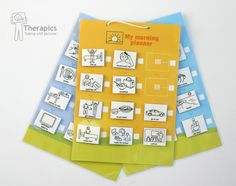 Therapics Daily Planner - develops independance with daily living for children with autism.