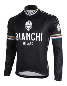 Bianchi Leggenda Long Sleeve Cycling Jersey 4e0592f08