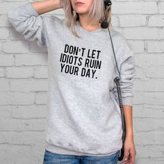 Motivation Quote Jumper Just Do It Hoodie Sport by YeahProducts