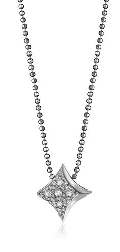 "Alex Woo ""Little Vegas"" Diamond Pendant Necklace. Alex Woo's Icons are classic gifts for your bridal party. This piece is perfect for the Vegas wedding. Ankle Bracelets, Charm Bracelets, Diamond Pendant Necklace, Bridal Gifts, Silver Diamonds, Jewelery, Jewelry Making, Chain, Vegas"