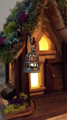Faerie House Nightlight Wee Folk House by TheMomandPopWoodshop, $150.00