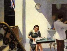 Edward Hopper - Whitney barber shop