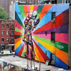 street art 2 Eduardo Kobra in NYC