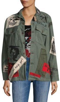 3f1a874f03c3 MadeWorn - Stones Sticky Fingers Cotton Jacket
