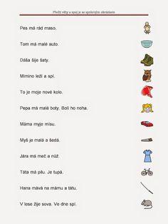 čtení – Monika Rejsková – Webová alba Picasa Worksheets, Alphabet, Language, Classroom, Album, Education, Learning, School, Struktura