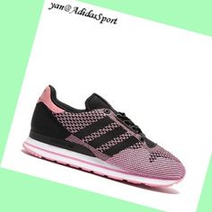reputable site ad65e 64d74 Black Pink - Adidas Originals ZX 500 OG Weave Women Trainers hot sale hot  price!