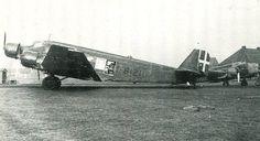 Junkers Ju.52 I-BIZI in Regia Aeronautica camouflage.