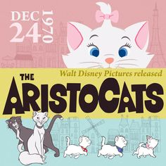 ♫ 'Cause everybody digs a swinging cat. ♫ #TheAristocats