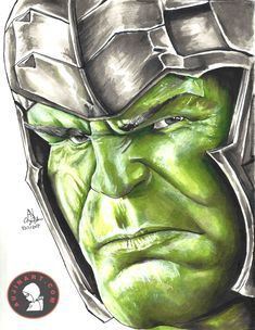 hulk from marvels the avengers single card party face