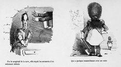 Topfferiana. Première apparition du sapeur Tête-de-Loup dans La Perroquettomanie d'Edouard Chevret, 1861