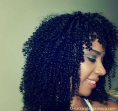 Curly Hair, afro hair, short curly hair   Hair Informations: http://youtu.be/HXvEco_XChw