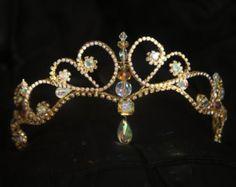 Rhinestone Ballet Tiara Made-to-order by CarynWellsDesigns