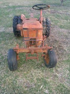 Economy Jim dandy garden tractor Lawn Tractors, Old Tractors, Antique Tractors, Vintage Tractors, Garden Tractor Pulling, Garden Tractor Attachments, Lawn Mower Repair, Lawn Equipment, Small Engine