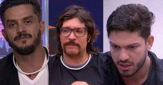 """""""Big Brother Brasil 17"""" - Ilmar, Marcos e Luiz Felipe estão no 'paredão'; veja como foi a votação"""
