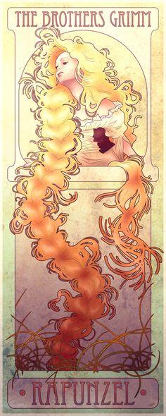 Rapunzel by ~chill07 on deviantART