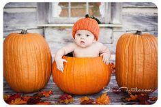 Full circle from Your little pumpkin announcement!