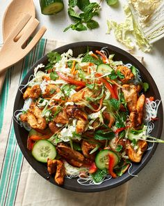 Recipe: Vietnamese-Style Chicken & Noodle Salad — Salad Recipes