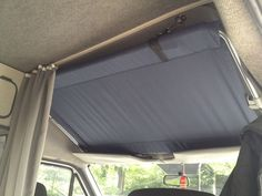 Light weight bed above cab (Camping Hacks Light)