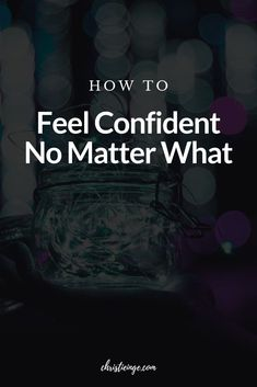 You may think that in order to feel confident, you need to be sure that you'll achieve your dreams. But feeling certain isn't where true self-confidence comes from. #selfconfidence #selflove #selfcare #followyourdreams #livewithintention #personalgrowth #liveyourbestlife How To Accept Yourself, Improve Yourself, Authentic Self, Self Quotes, Self Acceptance, Learning To Be, Self Confidence, Self Esteem, Believe In You