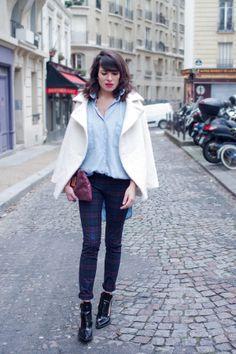 """Blog Le Style NAF NAF. Artículo """"Notas de la mujer parisina"""" http://blog.nafnaf.com.co/archive"""