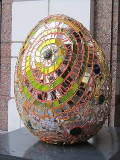 4 - The Golden Cosmic Egg by Andrew Logan