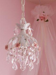 Shabby chic pendant chandelier 3 | Flickr - Photo Sharing!
