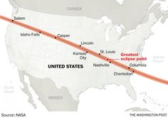 99 years after the last total solar eclipse ranged from West Coast to East, we get another.