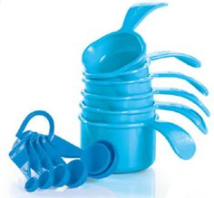 Tupperware | Measuring Cups and Measuring Spoons Set New COLOR same GREAT product!!! Shop online at www.mytupperware.com/rmhobley