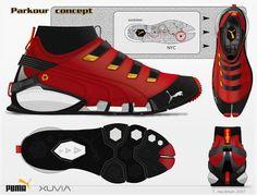 Puma Parkour Shoes Sneaker