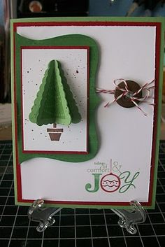 Pennant Punch Christmas Tree ~ Stampin UP